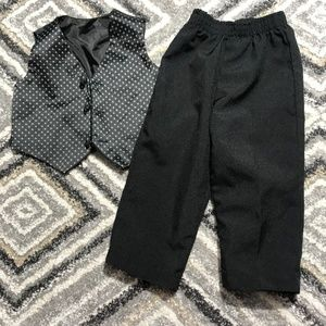 Other - 18 Month baby boy vest & dress pants